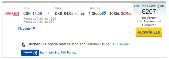 Cheap Air Tickets From Germany To Dubai Starting At 207