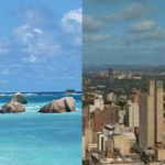 Seychelles and Johannesburg at once. Multi city flights Mahe Seychelles Johannesburg South Africa