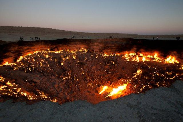 World's most amazing places you have probably never heard of Gate to Hell Turkmenistan