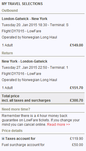 Cheap flights from UK to USA - London to New York Ł301 (€362), Los Angeles Ł381 (€459)!