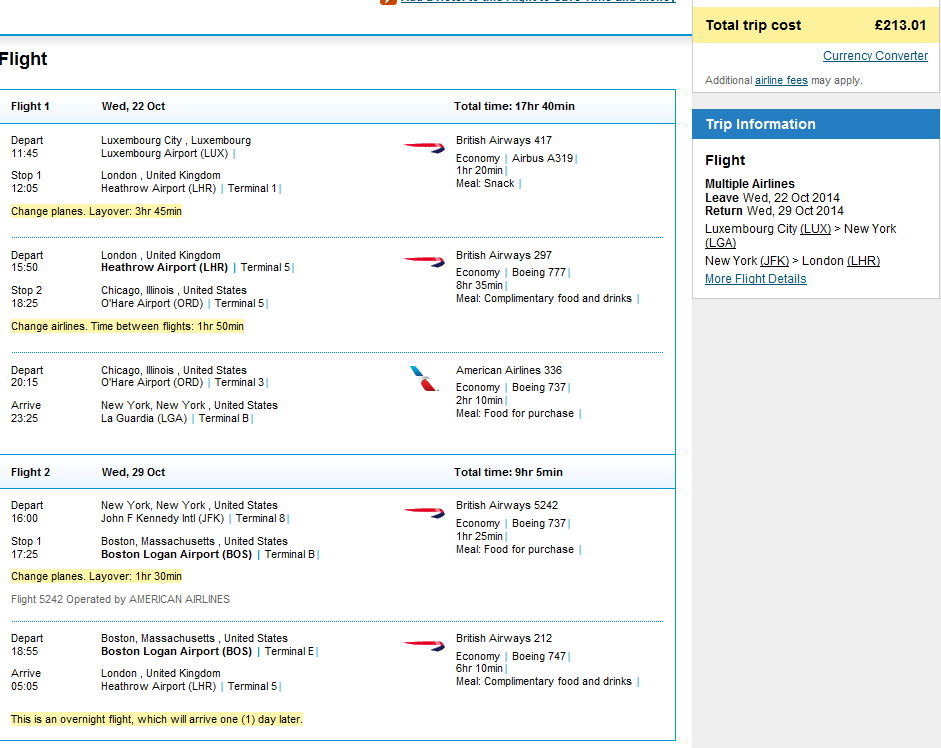 Cheap open-jaw flights to New York from Ł213 (€259)!!