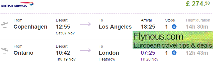 Tips-for-cheap-open-jaw-flights-to-Los-Angeles-California-USA-best-travel-deals-2015-British Airways promotion