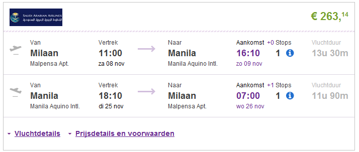 cheapest airline tickets to manila