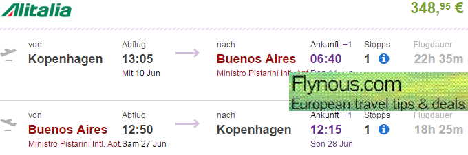 Return Flights To Buenos Aires In Argentina From 349 Or 163 301