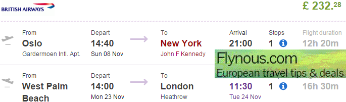 Cheap Flights From West Palm Beach Florida To New York