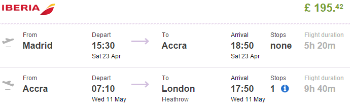 Cheap-open-jaw-flights-to-Africa-Ghana-Accra-from-Europe-return-London-UK-best-travel-deals-2016-Iberia-promotion