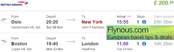 Cheap open jaw flights to USA (New York  & Chicago/Florida) €212/£200!