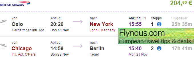 Cheap-flights-to-New-York-Chicago-USA-return-Germany-via-London-UK-best-travel-deals-2015-British-Airways-promotion