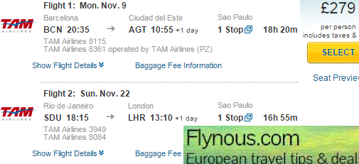 Cheap Open Jaw Flights To South America Paraguay 163 262