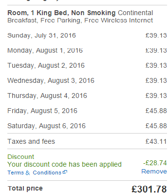 Hotels.com UK promotion code 2016 - 10% discount off accommodation!