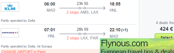 American airlines deals to europe