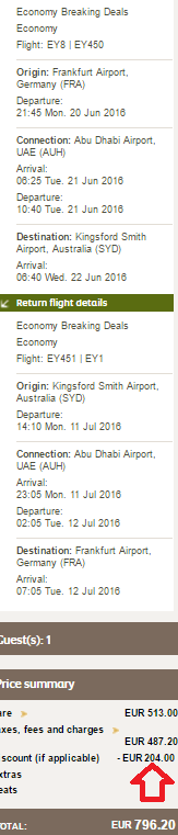 Etihad Airways up to 40% discount code (all flights from Europe!)