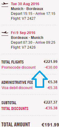 Volotea promotion code 2016 - up to €30 discount all flights!