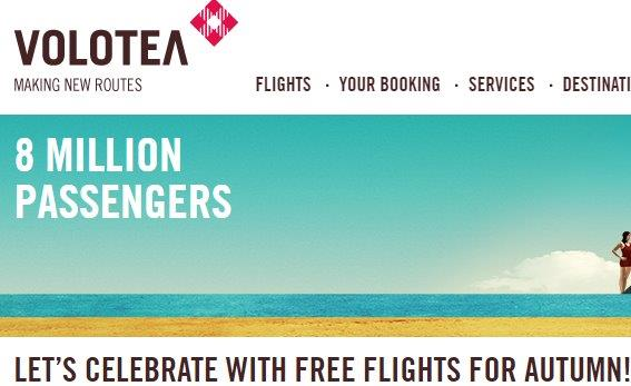 Volotea promotion - fly this summer and get free flight for up to €70!