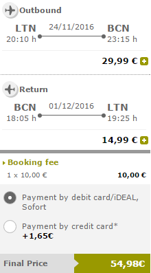 Vueling promotion 2016 - discounted seats from €19.99!