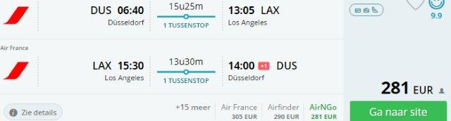Star Alliance flights from Dusseldorf to Los Angeles from €292!