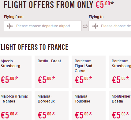 Volotea promotion sale 2017 - flights from €5 one way!