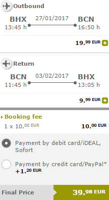 Vueling promotion 2017 - discounted seats from €19.99!