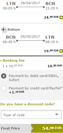 Vueling promotion 2017 - discounted seats from €24.99!