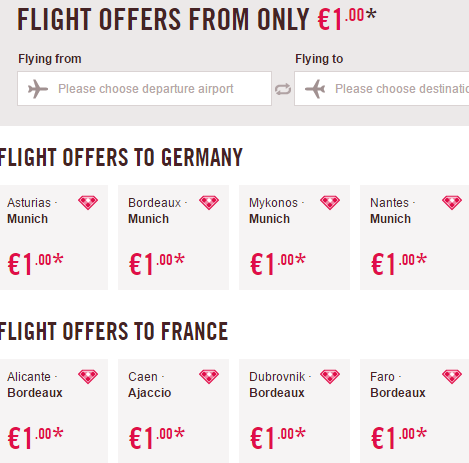 Volotea promotion sale 2017 - flights from €1 one way!