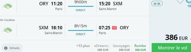 Air Caraibes promo: Non-stop from Paris to Sint Maarten from €386!