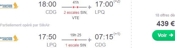 Fly in peak season Paris to South East Asia on top ranked Singapore Airlines €415!