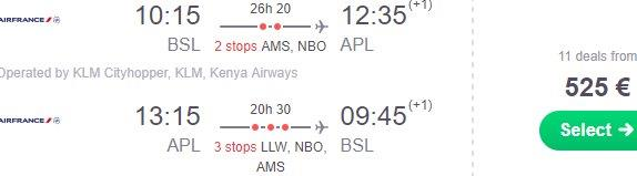 Return flights from Europe to Nampula, Northern Mozambique from €525!