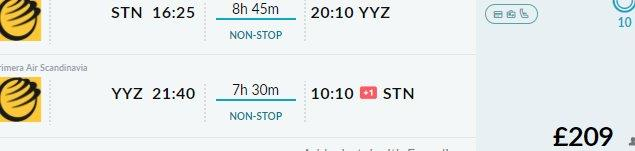 Low-cost non-stop flights from London to Toronto from £209!