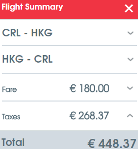 Air Belgium cheap non-stop flights from Brussels Charleroi to Hong Kong for €448!