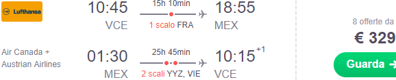 how to fly cheap from europe to mexico