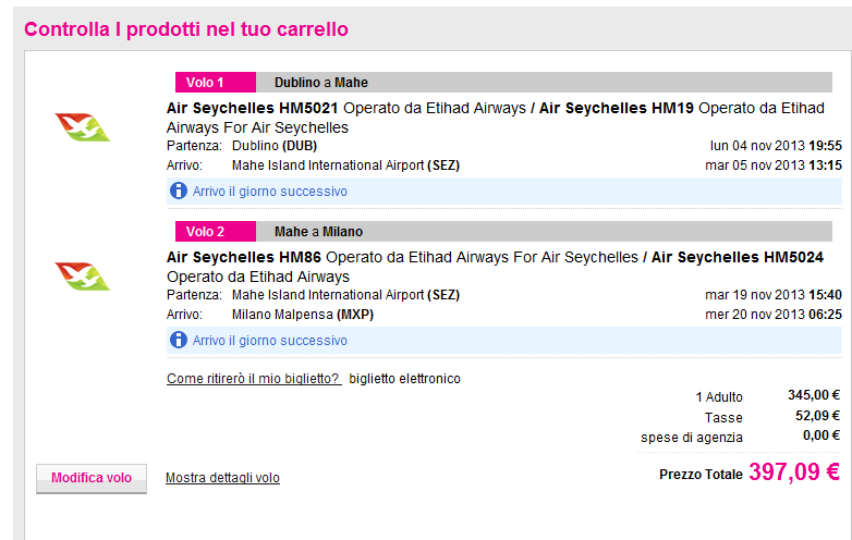Cheap open-jaw flights to Seychelles from €397!!