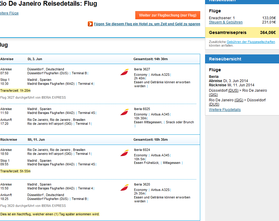 Error fare - Rio de Janeiro from Germany from €364!!