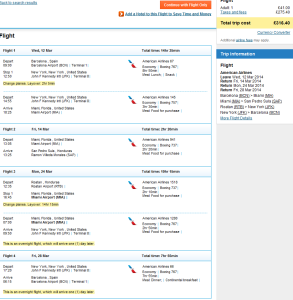 Tips for cheap multi city flights New York Miami Honduras Roatan 316