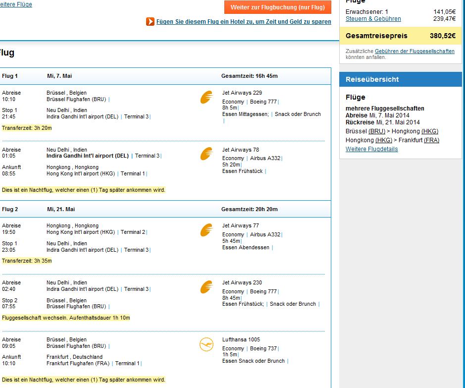 Tips for cheap open jaw flights to Hong Kong 380 best travel deals 2014