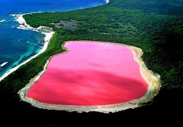 World's most amazing places you have probably never heard of Pink Lake Hilier Australia