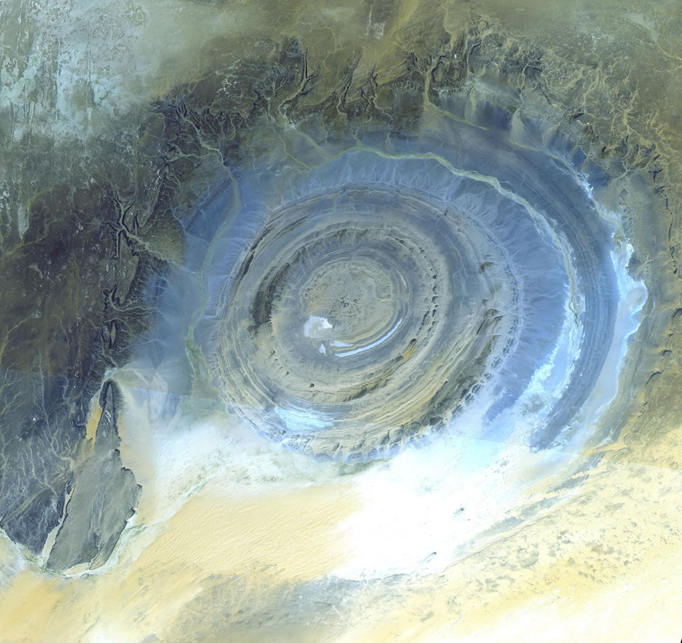 World's most amazing places you have probably never heard of Richat-Structure Mauritania