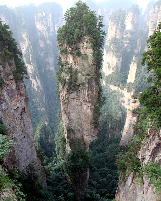 World's most amazing places you have probably never heard of Tianzi Mountains, China