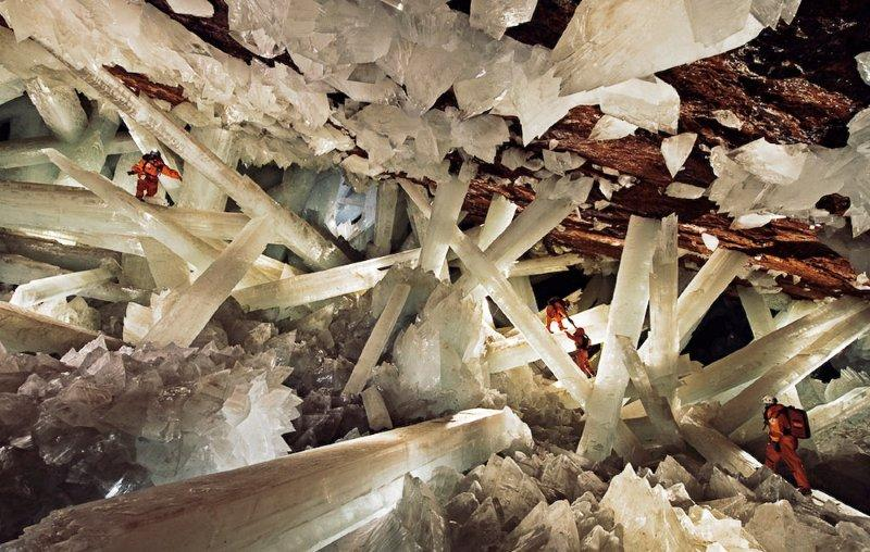 World's most amazing places you have probably never heard of crystal-cave Chihuahua Mexico