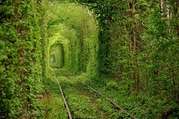 World's most amazing places you have probably never heard of tunnel of Love Ukraine
