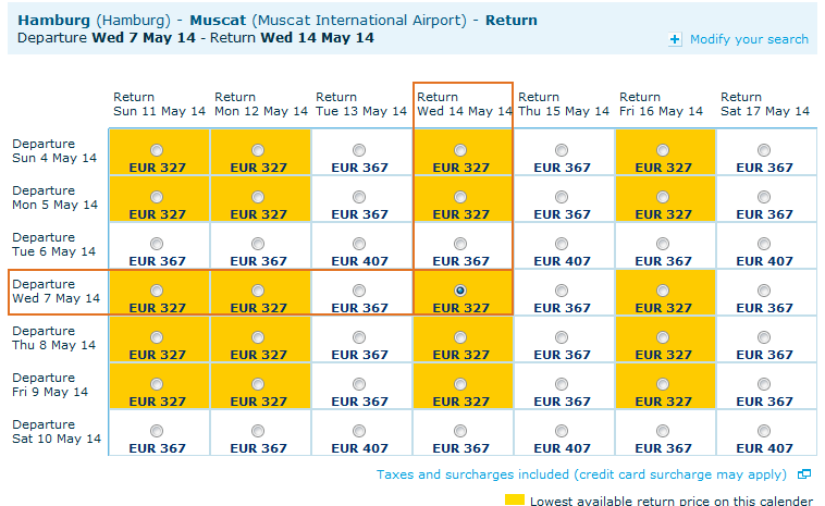 Roundtrip flights from Germany to Oman from €327!