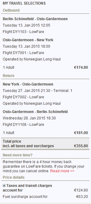 Cheap flights to New York: Denmark or Germany from €345!