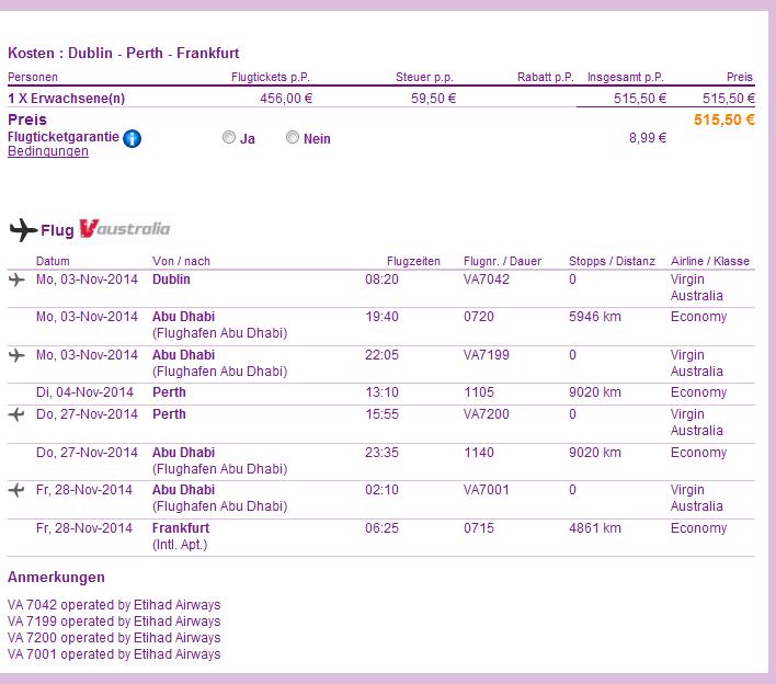 Cheap open-jaw flights to Australia: Dublin Sydney/Melbourne - Germany from €515!!