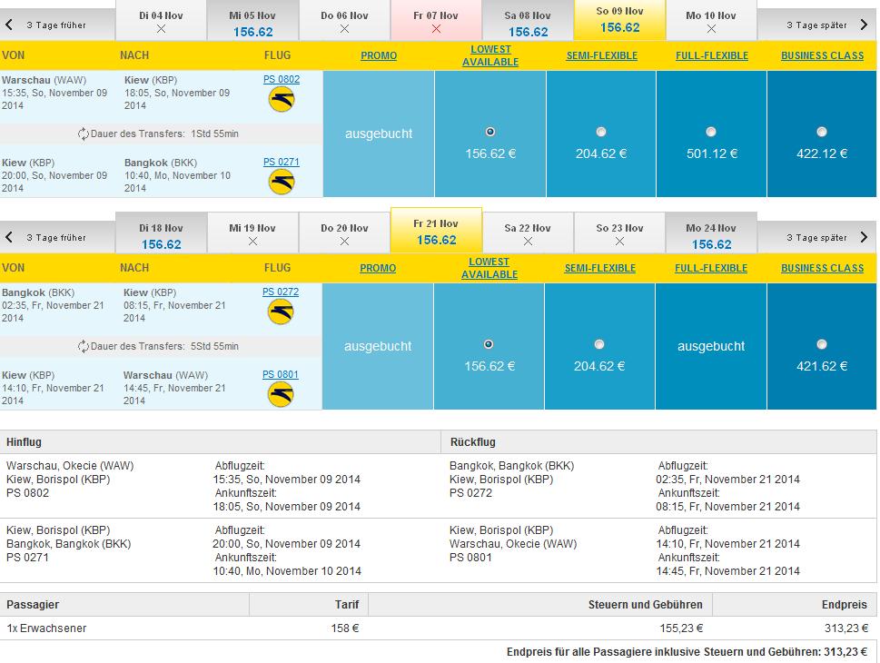 Cheap Flights To Bangkok From Europe From 313 Main