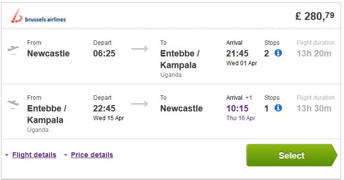 Cheap Roundtrip Flights To Uganda Or Rwanda From Uk From 163