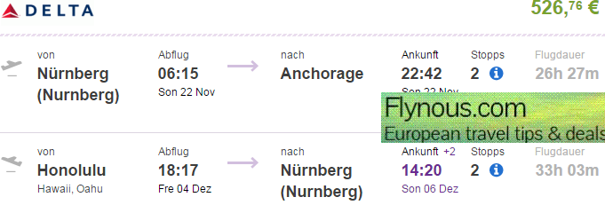 Fire&Ice: Alaska and Hawaii from Germany from €717!