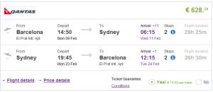 Australia & New Zealand: Cheap return flights from Europe from €628!
