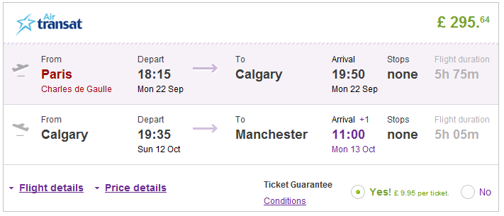 Asian canada cheap flight from from
