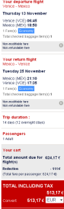 AF - Cheap flights to Brazil for €440, Mexico €513, New York €426..!