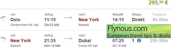 Multi City Flights To Usa Canada Dubai And Nepal At