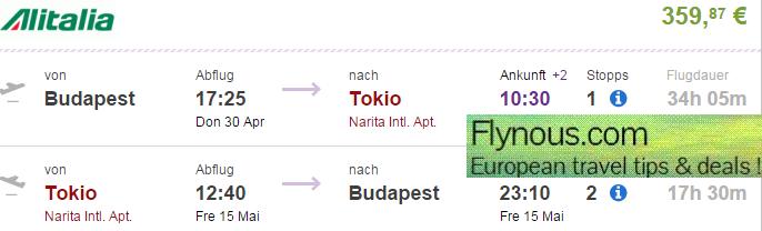Error-fare-flights-to-Asia-Japan-Tokyo-from-UK-London-Germany-best-travel-deals-2015-Alitalia